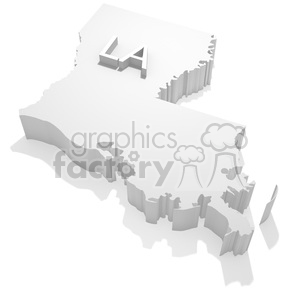 Louisiana clipart. Commercial use image # 383799
