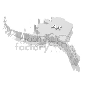 Alaska clipart. Commercial use image # 383839