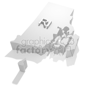 Rhode Island clipart. Commercial use image # 383844