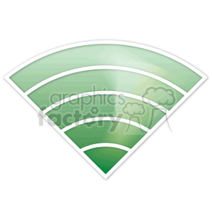 wireless-signal-5-bars clipart. Commercial use image # 383904