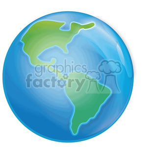 vector-cartoon-Earth clipart. Royalty-free image # 383944