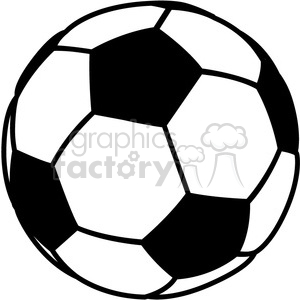 soccer ball clipart. Royalty-free image # 384119