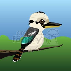 kookaburra-bird-2 clipart. Commercial use image # 384566