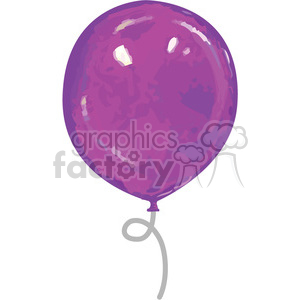 purple-balloon clipart. Royalty-free image # 384616