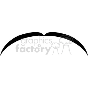 thin black mustache clipart. Royalty-free image # 384651