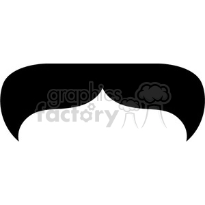 thick black mustache clipart. Commercial use image # 384656