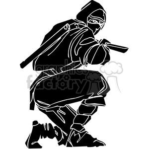 ninja clipart 008 clipart. Royalty-free image # 384671