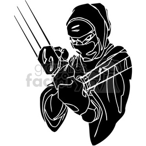 ninja clipart 007 clipart. Commercial use image # 384676