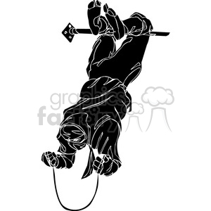 ninja clipart 037 animation. Commercial use animation # 384681