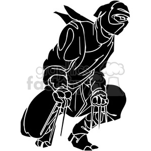 ninja clipart 006 clipart. Commercial use image # 384691