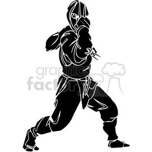 ninja clipart 042