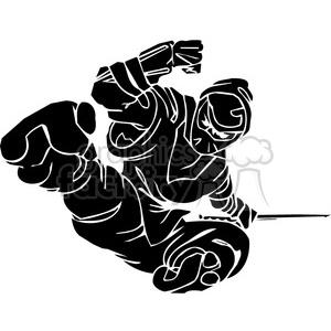 ninja clipart 041 clipart. Royalty-free image # 384711