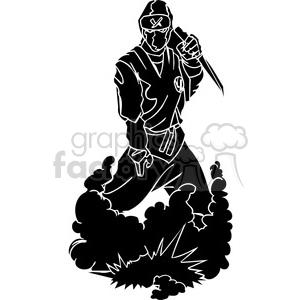ninja clipart 015 clipart. Royalty-free image # 384716