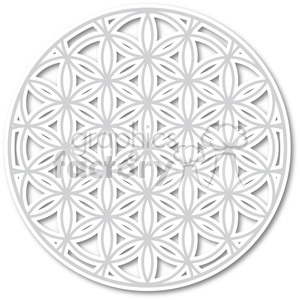 flower of life 003 clipart. Commercial use image # 384798