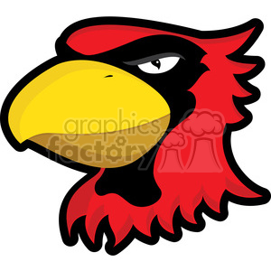 cardinal mascot clipart. Commercial use image # 384858