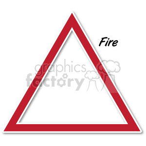 fire symbol 002 clipart. Royalty-free image # 384868