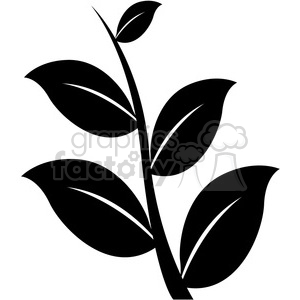 leaf 006 clipart. Commercial use image # 384878