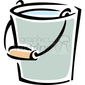 water bucket clipart. Royalty-free image # 384910