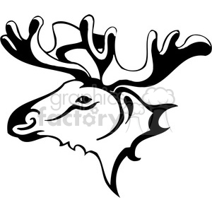wild moose 045 clipart. Royalty-free icon # 385430