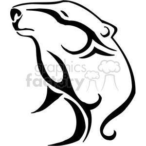 wild bear clipart 095 clipart. Royalty-free image # 385450