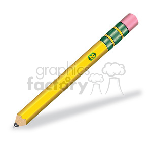 pencil clip art clipart. Commercial use image # 385530