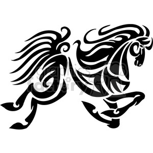 horse designs clipart. Royalty-free image # 385933