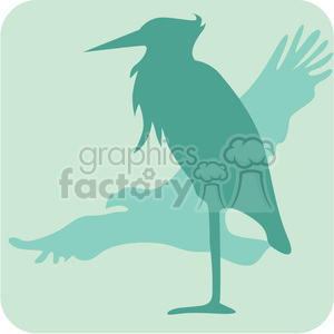 birds 095 clipart. Royalty-free image # 386125