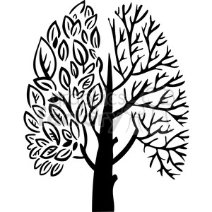 eco tree nature 098 clipart. Royalty-free image # 386165