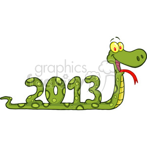 5117-Funny-Snake-Cartoon-Character-Showing-Numbers-2013-Royalty-Free-RF-Clipart-Image clipart. Royalty-free image # 386284