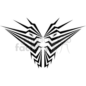 tribal masks vinyl ready art 003 clipart. Commercial use image # 386424