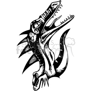 raptor design clipart. Royalty-free image # 387128