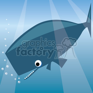 sperm whale clip art clipart. Royalty-free image # 387168