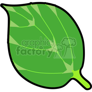 Red Mulberry Leaf in color clipart. Royalty-free image # 387457