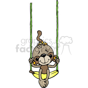 05 Monkey COL clipart. Commercial use image # 387547