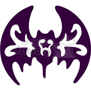 Bat Image clipart. Commercial use image # 387638