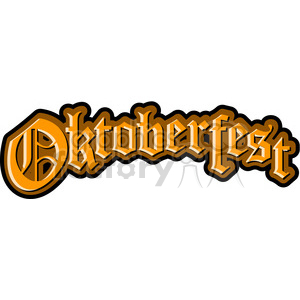 cartoon Oktoberfest