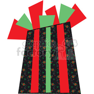 Christmas Gift 01 clipart. Royalty-free image # 387727