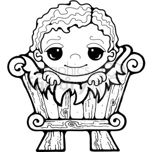 Baby Jesus 02  clipart clipart. Royalty-free icon # 387999