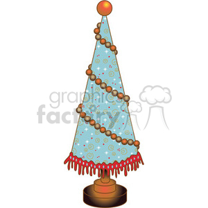 Christmas Tree Cone 03 clipart