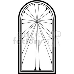 Window 02 clipart. Commercial use image # 388581