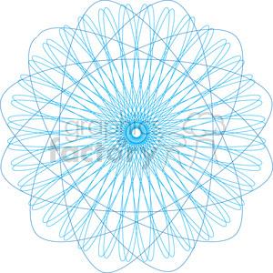 spirograph design pattern hypotrochoids symbol RG
