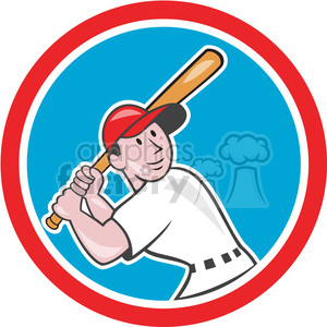 baseball batter batting leg up clipart. Royalty-free image # 390433