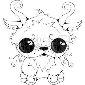 Creature 01 clipart. Royalty-free image # 391584