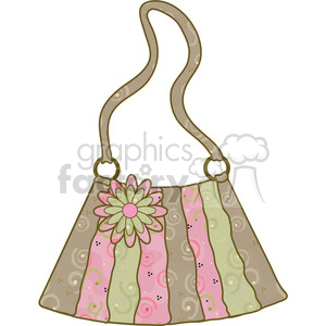 Womens Purse 06 clipart. Commercial use image # 391593