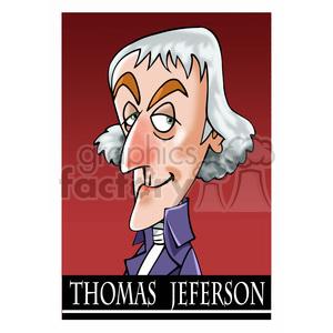 thomas jefferson color clipart. Commercial use image # 393031