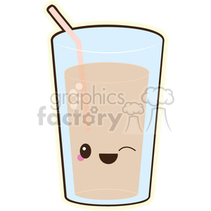 juice glass clipart. Royalty-free image # 393454
