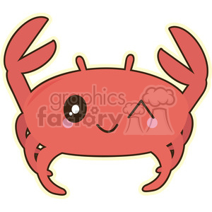 cartoon character characters funny cute crab crabs