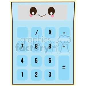 Calculator vector clip art image clipart. Commercial use image # 393799