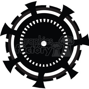 Gear 17 clipart. Commercial use image # 394075