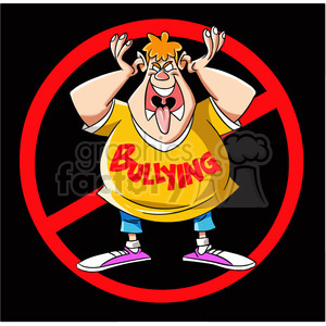 anti bullying campaign clipart. Royalty-free image # 394756